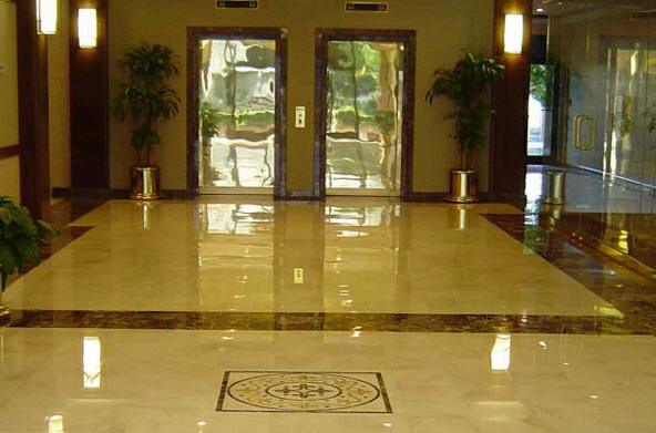 Marble Polish For Singapore Office