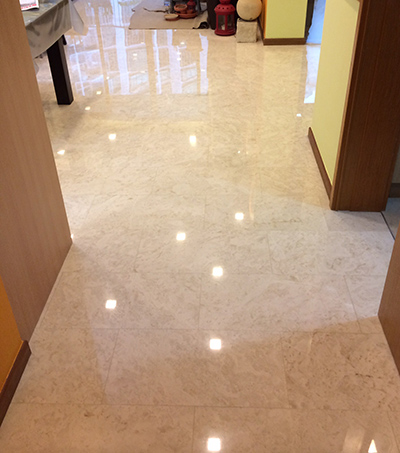Marble Polishing - After Image