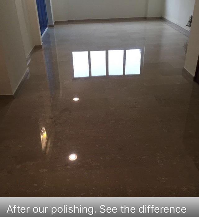 Hall After Polishing